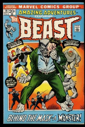 Amazing Adventures #14 VF 8.0 Beast!