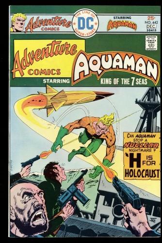 Adventure Comics #442 NM+ 9.6 DC Aquaman!