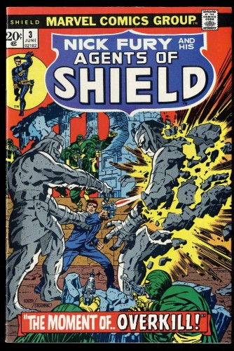 Nick Fury and his Agents of SHIELD #3 VF- 7.5