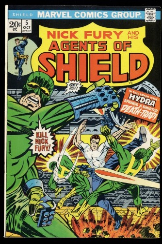 Nick Fury and his Agents of SHIELD #5 VF- 7.5