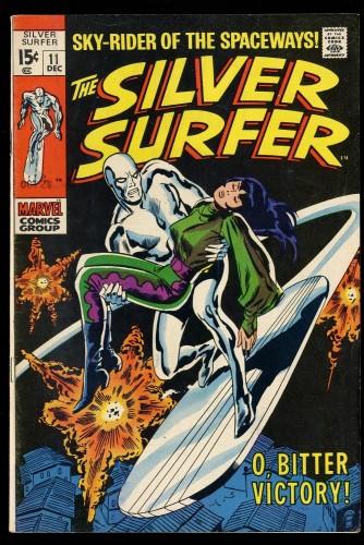 Silver Surfer #11 VG+ 4.5 Marvel Comics