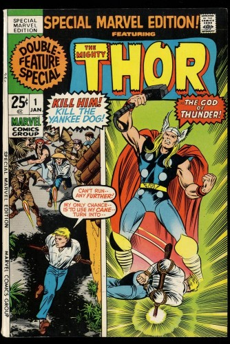 Special Marvel Edition #1 VF 8.0 Thor!