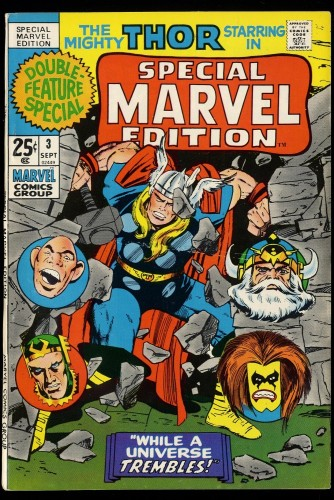Special Marvel Edition #3 VF- 7.5 Thor!