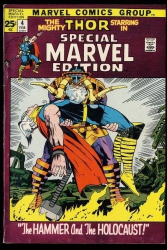 Special Marvel Edition #4 FN 6.0 Thor!