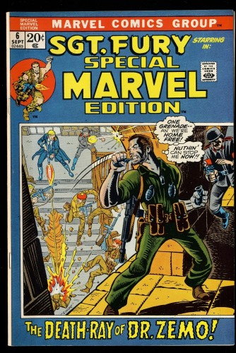 Special Marvel Edition #6 VG/FN 5.0 Sgt. Fury!