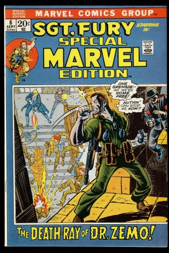 Special Marvel Edition #6 VF 8.0 Sgt. Fury!