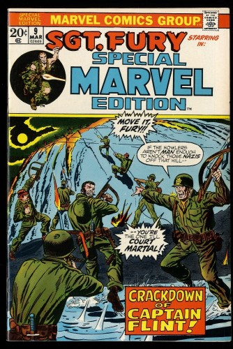 Special Marvel Edition #9 VF 8.0 Sgt. Fury!