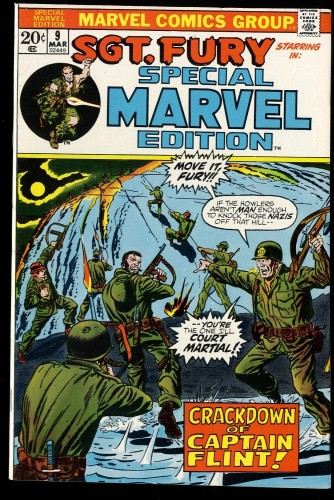 Special Marvel Edition #9 VF+ 8.5 Sgt. Fury!