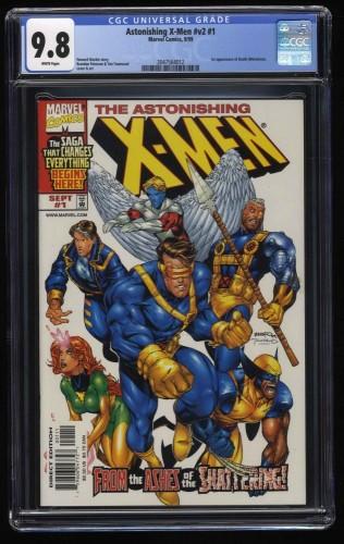 Astonishing X-Men Vol.2 #1 CGC NM/M 9.8 White Pages