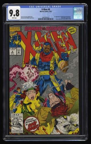 X-Men (1991) #8 CGC NM/M 9.8 White Pages 1st Bella Donna Boudreaux!