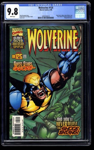 Wolverine (1988) #125 CGC NM/M 9.8 White Pages