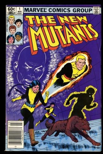 New Mutants #1 FN 6.0