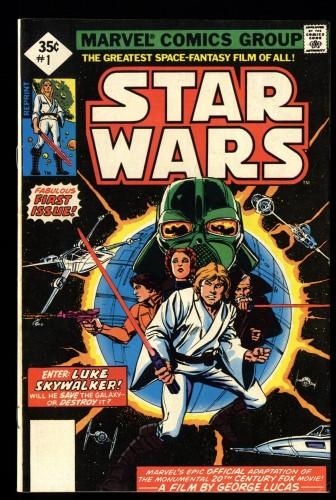Star Wars #1 FN/VF 7.0 REPRINT