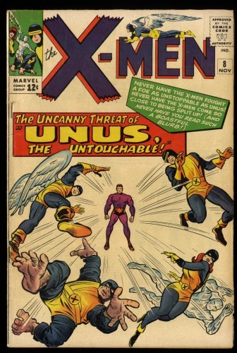 X-Men #8 VG- 3.5 Marvel Comics