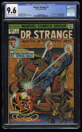 Doctor Strange #1 CGC NM+ 9.6 Off White to White Marvel Doctor