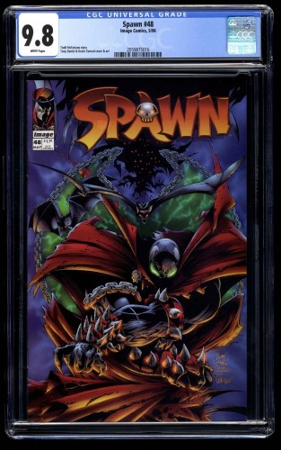 Spawn #48 CGC NM/M 9.8 White Pages