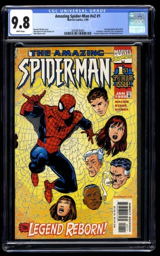 Amazing Spider-Man #1 CGC NM/M 9.8 White Pages