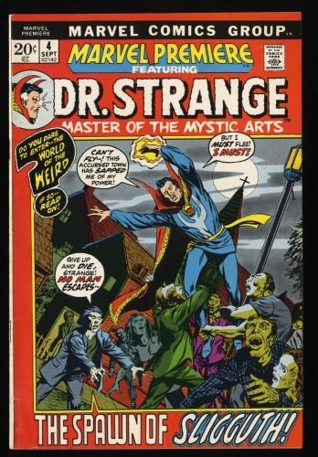 Marvel Premiere #4 FN- 5.5 Comics Doctor Strange!