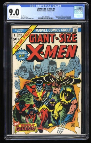 Giant-Size X-Men #1 CGC VF/NM 9.0 Off White to White