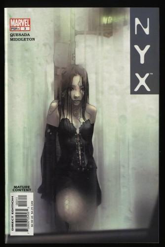 NYX #3 NM 9.4 1st X-23!