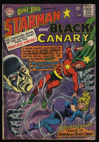 Brave And The Bold #61 GD 2.0 Starman Black Canary!