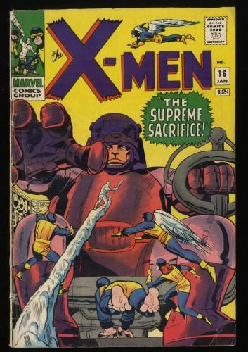 X-Men #16 VG- 3.5 Marvel Comics