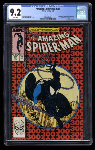 Amazing Spider-Man #300 CGC NM- 9.2 White Pages