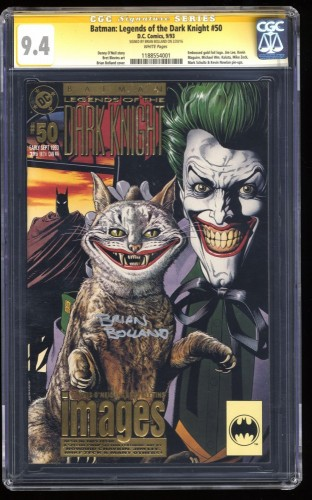 Batman: Legends of the Dark Knight #50 CGC NM 9.4 SS Signed by Brian Bolland!