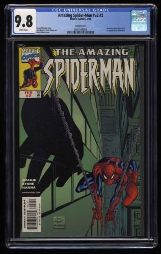 Amazing Spider-Man (1999) #2 CGC NM/M 9.8 White Pages