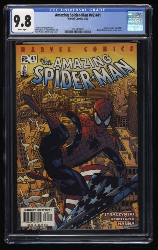 Amazing Spider-Man #v2 #41 CGC NM/M 9.8 White Pages