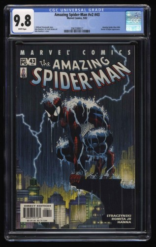 Amazing Spider-Man #v2 #43 CGC NM/M 9.8 White Pages