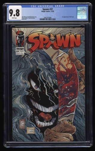 Spawn #37 CGC NM/M 9.8 White Pages
