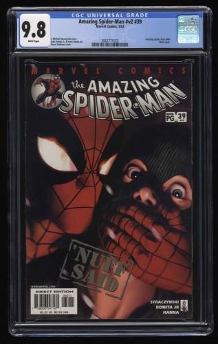 Amazing Spider-Man (1999) #39 CGC NM/M 9.8 White Pages