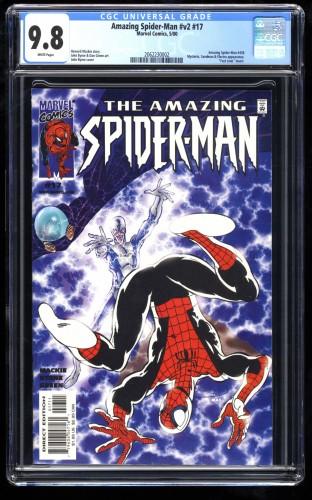 Amazing Spider-Man #17 CGC NM/M 9.8 White Pages