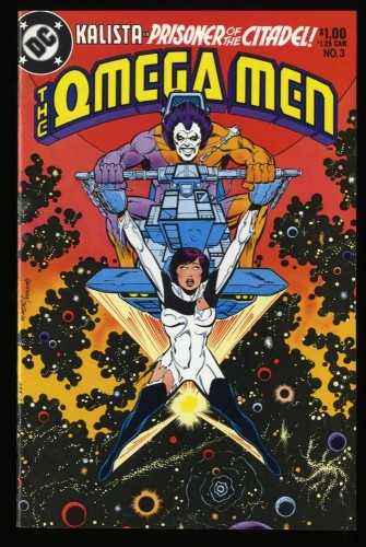 Omega men #3 VF- 7.5 1st Lobo!