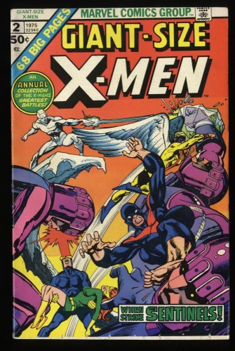Giant-Size X-Men #2 FN- 5.5