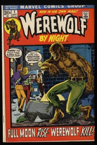 Werewolf By Night #1 FN- 5.5