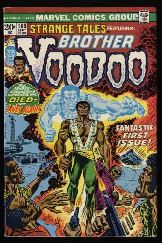 Strange Tales #169 FN/VF 7.0 Marvel Comics 1st Brother Voodoo!