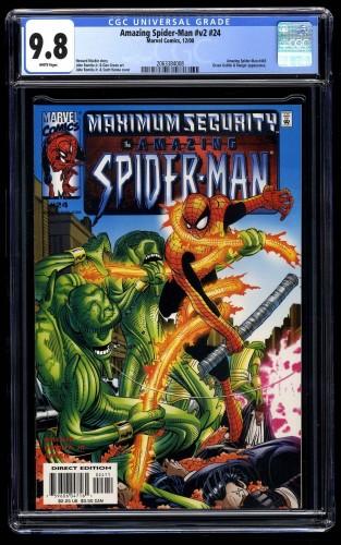 Amazing Spider-Man (1999) #24 CGC NM/M 9.8 White Pages