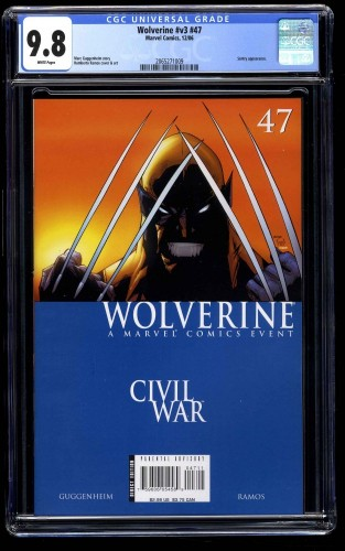 Wolverine (1988) #47 CGC NM/M 9.8 White Pages