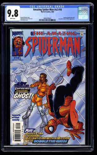 Amazing Spider-Man #16 CGC NM/M 9.8 White Pages