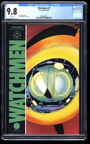 Watchmen #7 CGC NM/M 9.8 White Pages