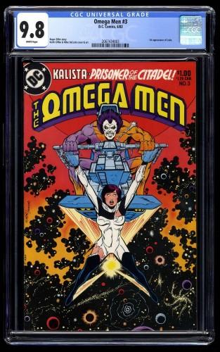 Omega Men #3 CGC NM/M 9.8 White Pages 1st Lobo!