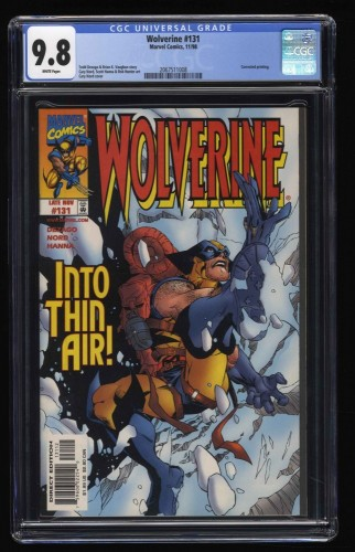 Wolverine (1988) #131 CGC NM/M 9.8 White Pages