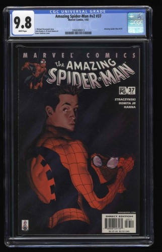Amazing Spider-Man (1999) #37 CGC NM/M 9.8 White Pages
