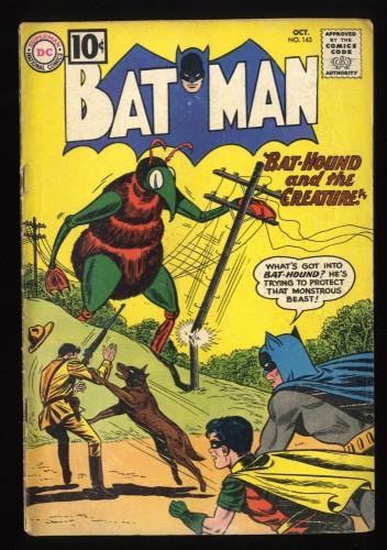 Batman #143 GD/VG 3.0