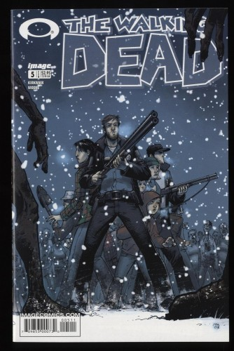 Walking Dead #5 NM+ 9.6 1st Print Death of Amy