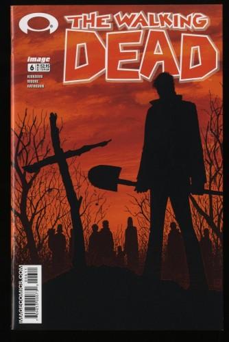 Walking Dead #6 NM 9.4 1st Print Death of Shane