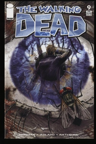 Walking Dead #9 NM- 9.2 1st Print 1st Otis