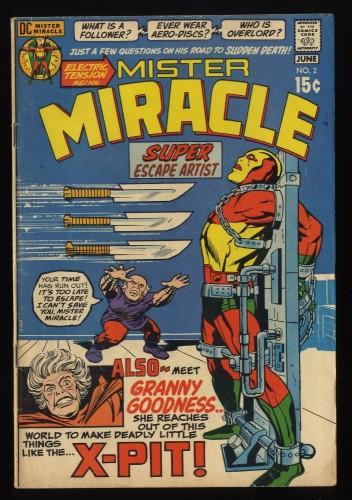 Mister Miracle #2 VG 4.0 DC Comics 1st Granny Goodness!